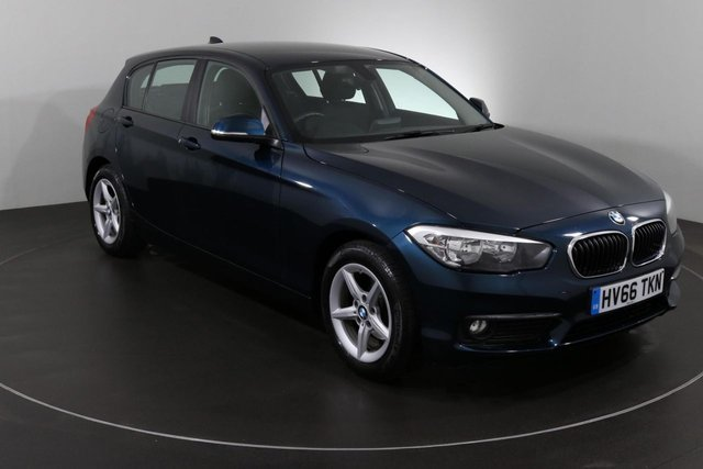 2016 66 BMW 1 SERIES 1.5 116D SE 5d AUTO 114 BHP ULEZ EXEMPT