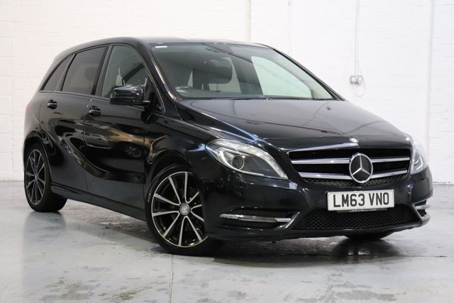 USED 2013 63 MERCEDES-BENZ B CLASS 1.5 B180 CDI BLUEEFFICIENCY SPORT 5d 109 BHP Mercedes-Benz B Class 1.5 B180 CDI Sport 5dr, Camera + Parking Sensors