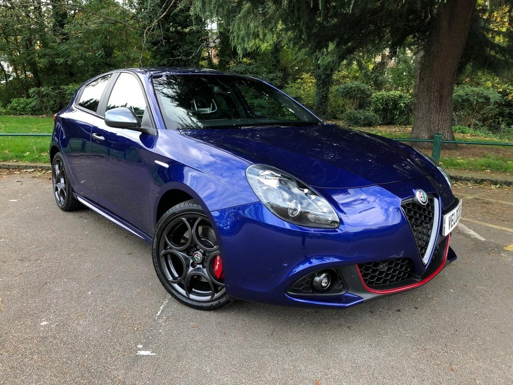 USED 2017 67 ALFA ROMEO GIULIETTA 1.4 TB MULTIAIR SPECIALE TCT 5d AUTO 170 BHP £2570 OF FACTORY EXTRAS