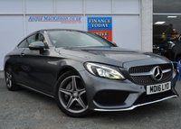 USED 2016 16 MERCEDES-BENZ C-CLASS 2.0 C 200 AMG LINE 2d 181 BHP STUNNING IN GREY