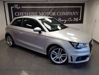 2012 AUDI A1 1.4 TFSI S LINE 3d + SERVICE HISTORY + 2 KEYS + EXTRAS £7000.00