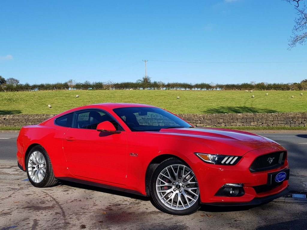USED 2016 16 FORD MUSTANG 5.0 GT 2d 410 BHP ONE OWNER, LOW MILEAGE, GREAT SPEC 5.0 V8