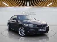 USED 2016 66 BMW 2 SERIES 2.0 218D M SPORT 2d AUTO 148 BHP **FREE FROM ULEZ CHARGE** **Full BMW Service History**