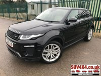 USED 2015 65 LAND ROVER RANGE ROVER EVOQUE 2.0 TD4 HSE DYNAMIC 5d AUTO 177 BHP FACELIFT SAT NAV LEATHER ONE OWNER FACELIFT 4WD. PANORAMIC SUNROOF. SATELLITE NAVIGATION. STUNNING BLACK MET WITH FULL BEIGE LEATHER TRIM. ELECTRIC HEATED MEMORY SEATS. HEATED STEERING. ELECTRIC TAILGATE. CRUISE CONTROL. 20 INCH ALLOYS. COLOUR CODED TRIMS. PRIVACY GLASS. PARKING SENSORS. REVERSE CAMERA. BLUETOOTH PREP. CLIMATE CONTROL INCLUDING AIR CON. MULTIMEDIA SYSTEM. R/CD/DAB RADIO. MFSW. MOT 09/20. ONE OWNER FROM NEW. SERVICE HISTORY. PRESTIGE SUV CENTRE LS23 7FR. TEL 01937 849492 OPTION 1