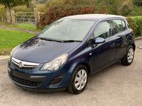 USED 2014 14 VAUXHALL CORSA 5 Door Hatchback 1.3 CDTi 75 DGN A/C ECO FLEX S/S Direct From Ministry of Defence, Only 56,000 Miles, Air Con.