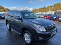 USED 2013 TOYOTA LAND CRUISER 3.0 LC4 D-4D 5d AUTO 188 BHP 7 Seats, one owner with only 32,000 miles