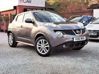 2011 NISSAN JUKE 1.6 ACENTA PREMIUM 5d AUTO 117 BHP £6495.00