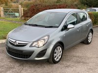 USED 2014 14 VAUXHALL CORSA 5 Door Hatchback 1.3 CDTi 75 DGN A/C ECO FLEX S/S Direct From Ministry of Defence, Only 63,000 Miles, Air Con.