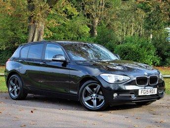 2015 BMW 1 SERIES 1.6 116I SPORT 5d 135 BHP £9450.00