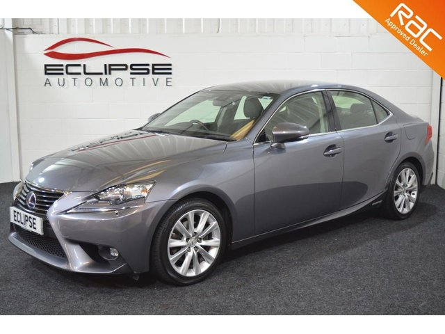 2014 64 LEXUS IS 2.5 300H EXECUTIVE EDITION 4d AUTO 179 BHP
