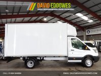 USED 2015 15 FORD TRANSIT 2.2 350 C/C DRW 125 BHP EF LWB LUTON VAN WITH TAIL LIFT - AA DEALER WARRANTY PROMISE - TRADING STANDARDS APPROVED -
