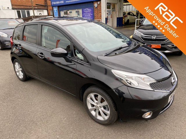 2015 65 NISSAN NOTE 1.2 ACENTA DIG-S 5d AUTO 98 BHP