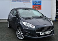 USED 2013 FORD FIESTA 1.0 TITANIUM X 5d Petrol Hatchback with Great High Spec PERFECT FAMILY HATCHBACK