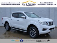 USED 2016 66 NISSAN NAVARA 2.3 DCI ACENTA PLUS 4X4 SHR DCB AUTO 190 BHP One Owner Service History A/C Buy Now, Pay Later Finance!