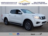 USED 2016 16 NISSAN NP300 NAVARA 2.3 DCI N-CONNECTA 4X4 SHR DCB 190 BHP Full Dealer History One Owner 0% Deposit Finance Available