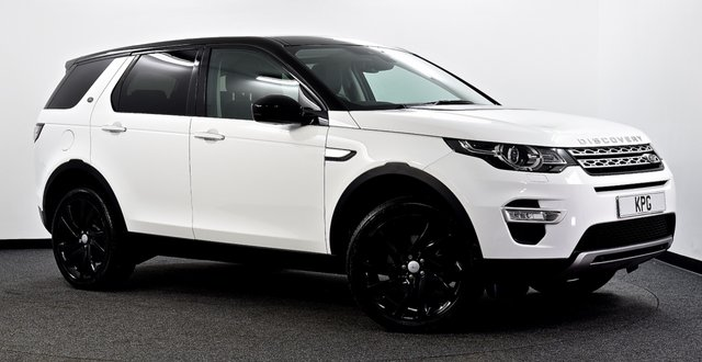 USED 2015 65 LAND ROVER DISCOVERY SPORT 2.0 TD4 HSE Luxury Auto 4WD (s/s) 5dr 7 Seat Pan Roof, Hot/Cold Seats, Nav+