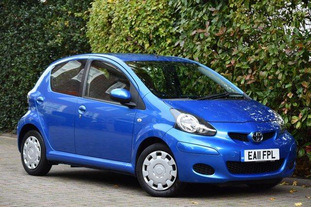 2011 11 TOYOTA AYGO 1.0 VVT-I BLUE 5d 67 BHP