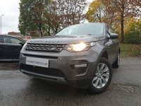 "USED 2016 16 LAND ROVER DISCOVERY SPORT 2.0 TD4 SE TECH 5d 180BHP 7 SEATS 7 SEATS+LEATHER+PRIVGLASS+PARK+18"" ALLOY+AIRCON+NAV+BLUETOOTH+AUX+"