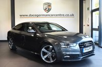 "USED 2014 14 AUDI A5 2.0 SPORTBACK TDI QUATTRO BLACK ED S/S 5DR 175 BHP superb service history Finished in a stunning daytona metallic grey styled with 19"" alloys. Upon opening the drivers door you are presented with full black leather interior,  superb service history, bluetooth, heated seats, xenon lights, bang & olufsen surround sound, cruise control, climate control, heated mirrors, parking sensors"