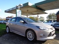 USED 2014 64 FORD FOCUS 1.6 ZETEC S TDCI 5d 113 BHP 6 SERVICE STAMPS