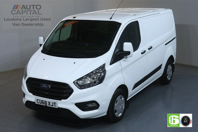 2018 68 FORD TRANSIT CUSTOM 2.0 300 TREND L1 H1 129 BHP EURO 6 ENGINE FRONT- REAR SENSORS, RUNNING LED LIGHTS, VOICE CONTROL