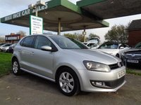 2012 VOLKSWAGEN POLO 1.2 MATCH TDI 5d 74 BHP 7 SERVICE STAMPS £4995.00