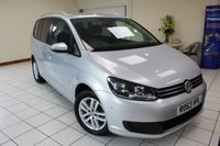2013 VOLKSWAGEN TOURAN 1.6 SE TDI BLUEMOTION TECHNOLOGY DSG 5d AUTO 106 BHP £8995.00