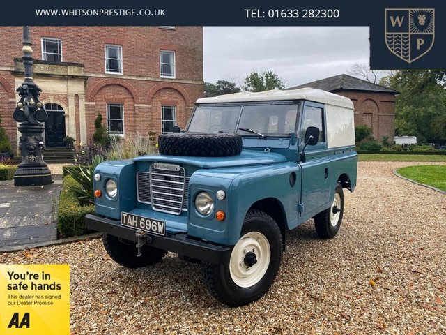 1981 LAND ROVER 88 Series 3 88 2.3 4 CYL 59 BHP