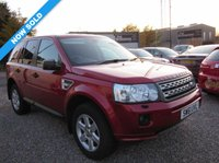 2011 LAND ROVER FREELANDER 2.2 TD4 GS 5d AUTO 150 BHP SOLD