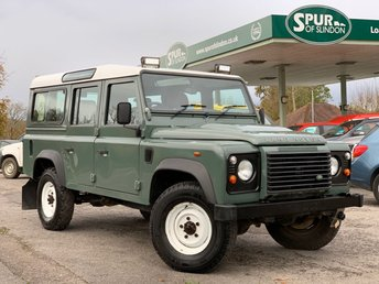2013 LAND ROVER DEFENDER 110 2.2 COUNTY STATION WAGON  £27995.00
