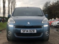 USED 2014 14 PEUGEOT PARTNER 1.6 E-HDI TEPEE S 5d 92 BHP VERY LOW GENUINE MILES * CLIMATE CONTROL * FULL SERVICE RECORD *