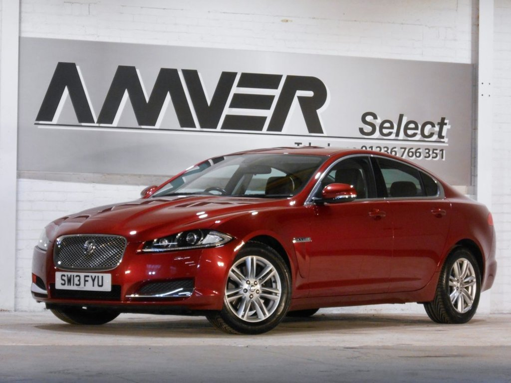 USED 2013 13 JAGUAR XF 2.2 D LUXURY 4d AUTO 200 BHP