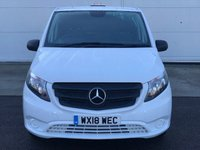 USED 2018 18 MERCEDES-BENZ VITO 1.6 109 CDI 88 BHP