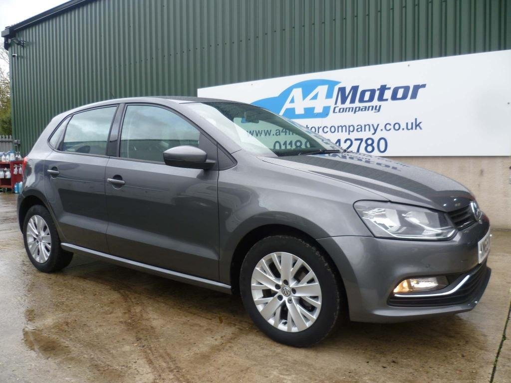 USED 2015 65 VOLKSWAGEN POLO 1.2 TSI BlueMotion Tech SE (s/s) 5dr ONE OWNER - NEW RECENT MOT
