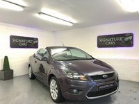USED 2009 09 FORD FOCUS 2.0 CC3 2d 144 BHP