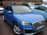 USED 2017 67 AUDI Q2 1.4 TFSI SPORT 5d AUTO 148 BHP ANY PART EXCHANGE WELCOME, COUNTRY WIDE DELIVERY ARRANGED, HUGE SPEC