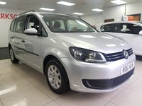 USED 2011 61 VOLKSWAGEN TOURAN 1.6 S TDI 5d+7 SEATER+SERVICE HISTORY+ALLOYS+ROOF RAILS+