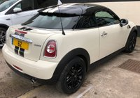 USED 2012 62 MINI COUPE 1.6 COOPER 3DR 120 BHP, 1 OWNER FROM NEW LOW MILEAGE WITH DAB RADIO & BLUETOOTH/AUX