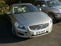2011 VOLVO S60 2.4 D5 SE LUX 4d AUTO 202 BHP £8480.00