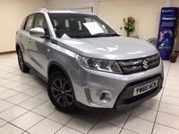 USED 2017 66 SUZUKI VITARA 1.6 SZ4 5d 118 BHP ONE OWNER / 14,635 MILES / MULTIPLE AIRBAGS / ISOFIX CHILD SEAT MOUNTINGS / AIR CONDITIONIING