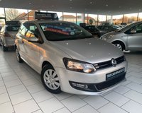 USED 2012 12 VOLKSWAGEN POLO 1.2 S A/C 3dr 60 BHP ** 6 STAMP SERVICE HISTORY **