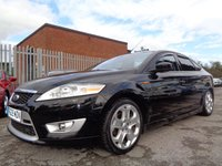 USED 2009 09 FORD MONDEO 2.2 TITANIUM X SPORT TDCI 5d 173 BHP HALF LEATHER SEATS STUNNING CAR