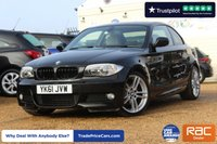 USED 2011 61 BMW 1 SERIES 2.0 120D M SPORT 2d 175 BHP