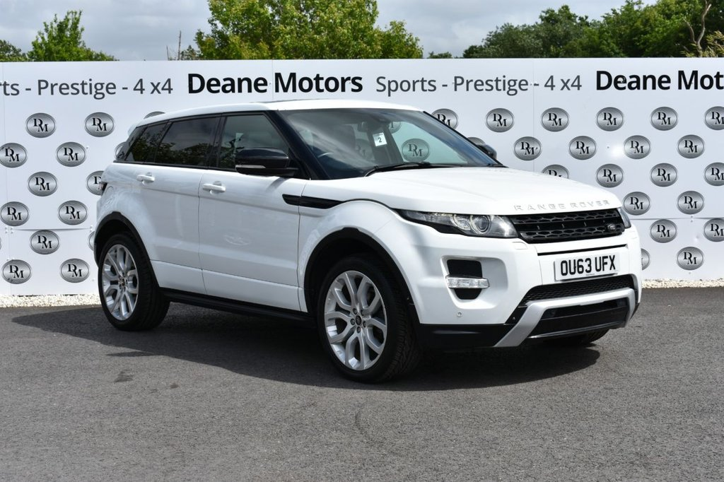 USED 2013 63 LAND ROVER RANGE ROVER EVOQUE 2.2 SD4 DYNAMIC LUX 5d 190 BHP STUNNING VALUE