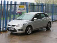 USED 2008 08 FORD FOCUS 1.6 ZETEC 5dr Air con Alloys Front fogs Finance arranged Part exchange available Open 7 days