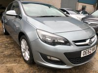 USED 2013 62 VAUXHALL ASTRA 1.4 ACTIVE 5d 98 BHP