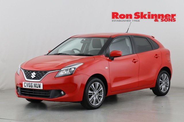View our 2016 66 SUZUKI BALENO 1.0 SZ3 BOOSTERJET 5d 111 BHP