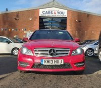 USED 2013 13 MERCEDES-BENZ C CLASS 2.1 C220 CDI BLUEEFFICIENCY AMG SPORT PLUS 4d 168 BHP NAVIGATION SYSTEM +   BLUETOOTH +  PAN ROOF +   HEATED SEATS +   PARKING AID +  CRUISE CONTROL +