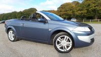 USED 2007 57 RENAULT MEGANE 1.6 DYNAMIQUE S VVT 2d 110 BHP FULL LEATHER TRIM, ALLOY WHEELS, CD-CHANGER, ELECTRIC WINDOWS, CLIMATE CONTROL, PANORAMIC ROOF, AIR-CONDITIONING, ELECTRIC MIRRORS, 2 OWNERS, 12 MONTHS MOT, METALLIC PAINT,