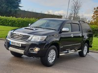 2015 TOYOTA HI-LUX 3.0 INVINCIBLE 4X4 D-4D DCB AUTO 169 BHP £15850.00